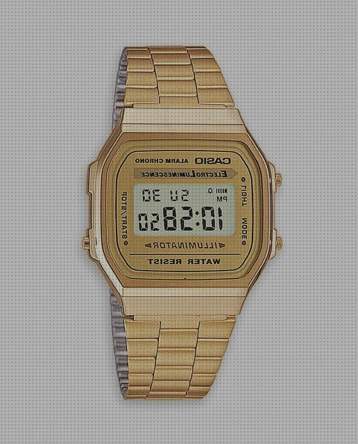 Review de casio a168wg