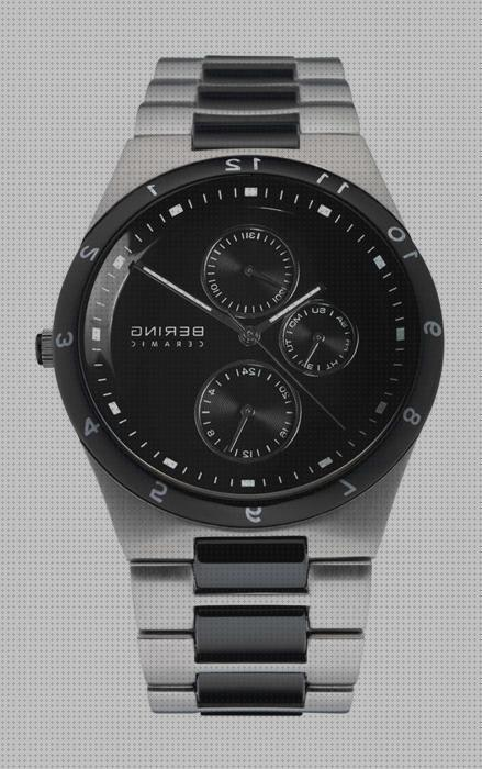 Review de bering reloj bering 32339 742 hombre negro ceramic collection multifunción