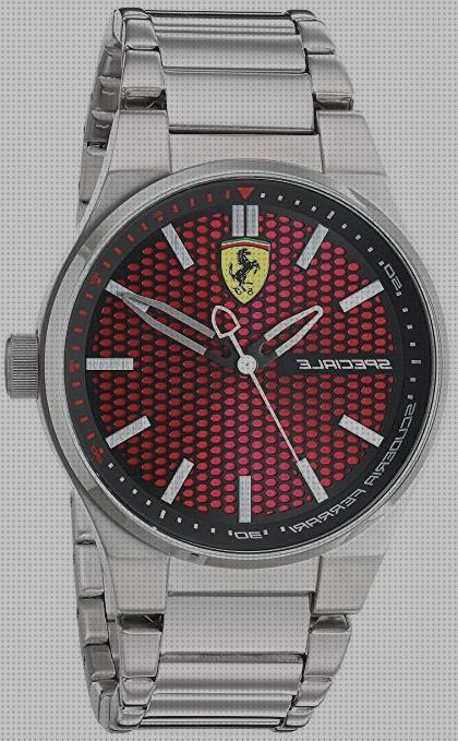 Review de reloj ferrari acero inoxidable