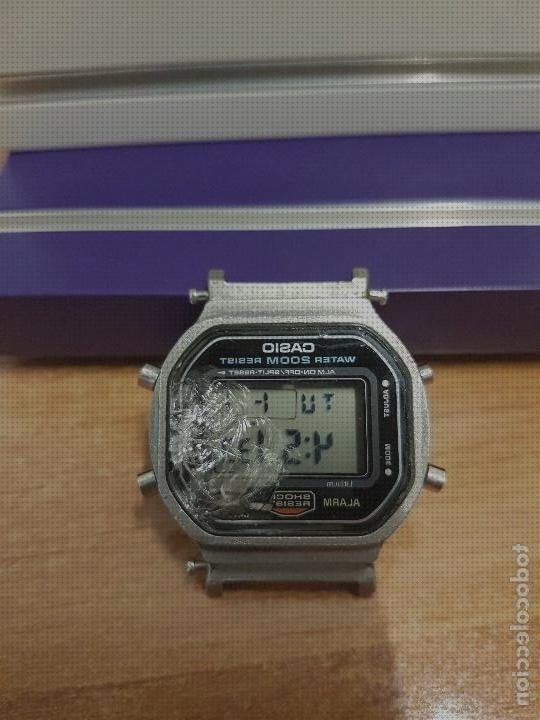 Review de relojes casio cristales